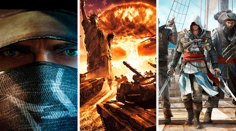 Descarga Watch Dogs, Assassins Creed IV y World in Conflict - RijoGames