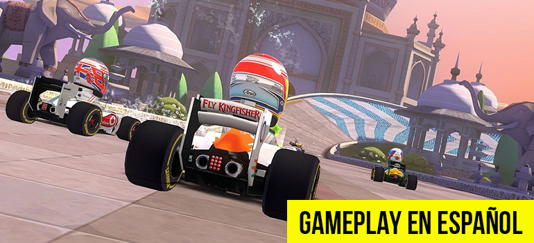 F1 Race Stars - Mi Primer GamePlay del 2018