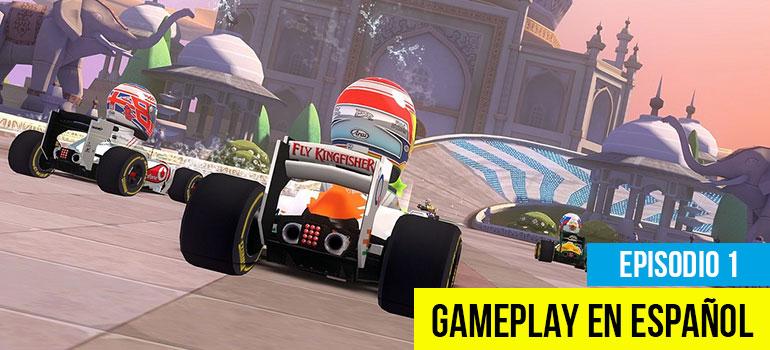F1 Race Stars GamePlay: Episodio 1 - Jugamos con Schumacher - RijoGames.com