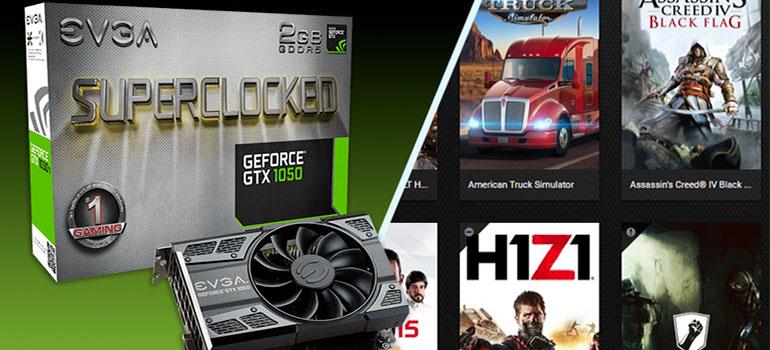 EVGA Nvidia GTX 1050 SC 2GB - Nueva tarjeta - Test Q9650 - RijoGames.com